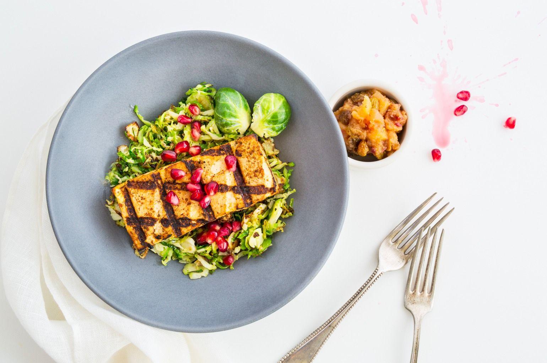 Maple Glazed Grilled Tofu on Munchery Healthy prepared