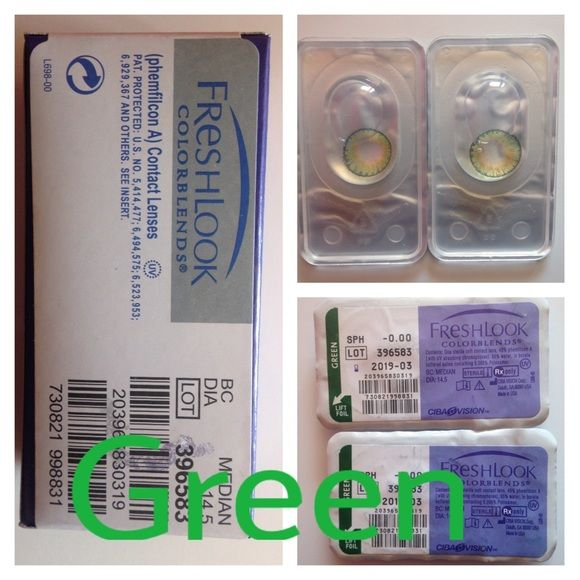 fd63ceef32f Green Eye Contacts ONE WEEK SALE ON