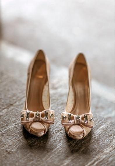 11f3aaa6a Glam Wedding Shoes | Wedding shoes | Peep toe wedding shoes, White ...