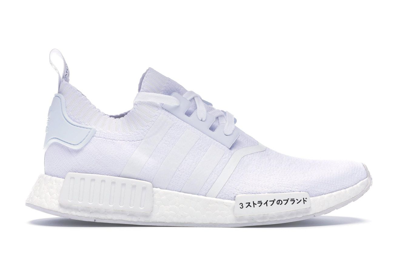 new concept 61fc8 f6208 adidas NMD R1 Japan Triple White in 2019 | shoes | Adidas ...