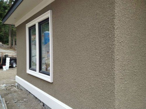 Rough Stucco Finish | Foundation | Pinterest | Stucco finishes ...