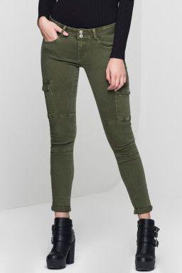 Womens Woman Cargo Weijl Cachi Fashion Pantaloni Tally dYSwqxI
