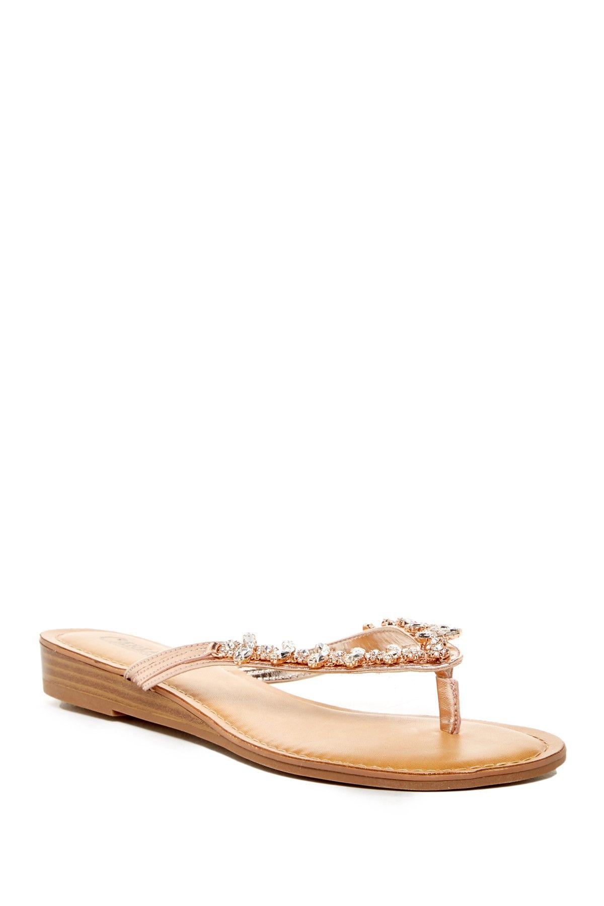 Tereza Embellished Flip Flop