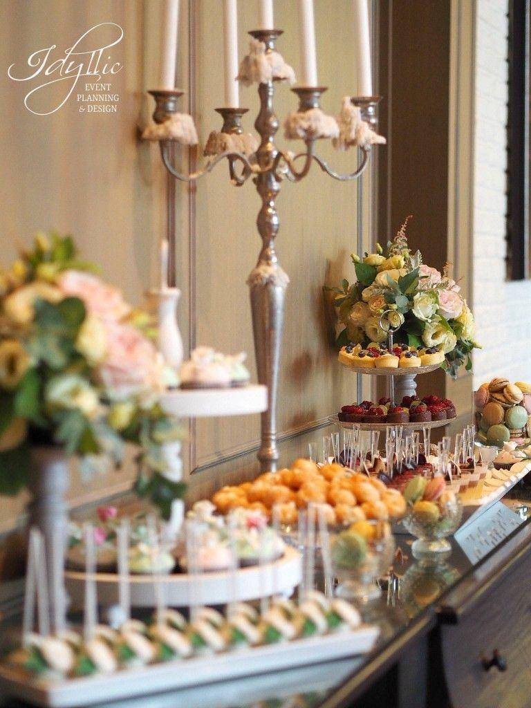 Candy Bar Idyllic Events Nunta Restaurant Diplomat Bucuresti