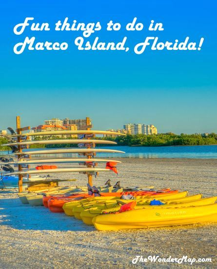Marco Island Florida: Looking For Exciting And Relaxing Things To Do In Marco