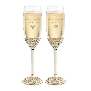 Wedding Toasting Flutes Customized Champagne Gles