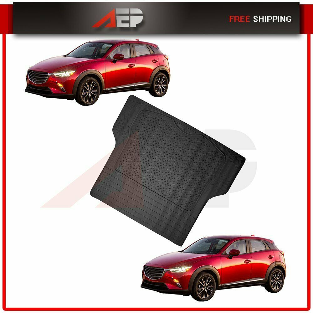 Sponsored Ebay 1 Pieces Rubber Car Trunk Floor Mat For Suv Trucks Van All Weather Protective Suv Trucks Car Trunk Suv