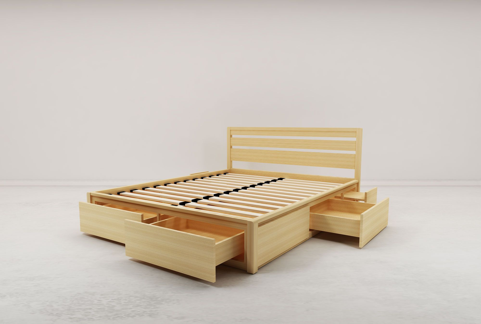 Pin by Adam Johnson on apartment ideas Bed frame with