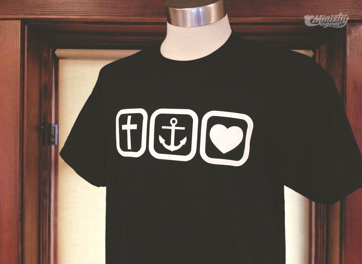 T shirt design youth - Cross Anchor Heart T Shirt Design By Http Www
