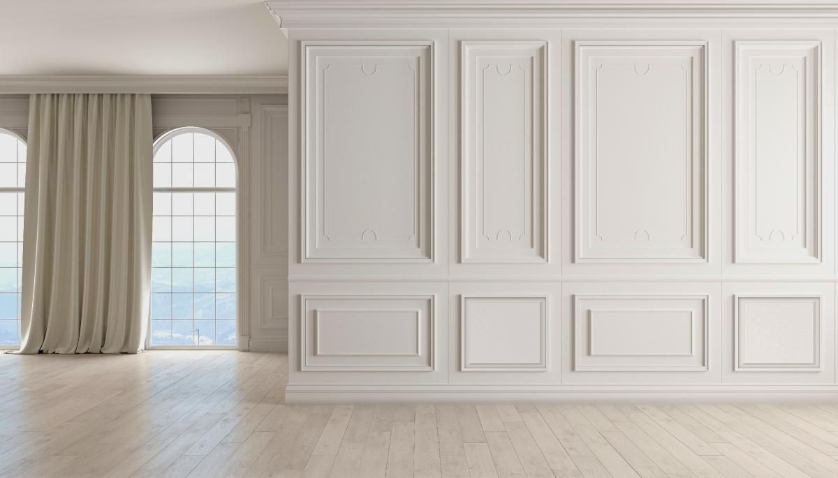 Harrison Raised Panel Decorative Wall Panel White Wall Paneling Wall Molding Living Room Wall Paneling