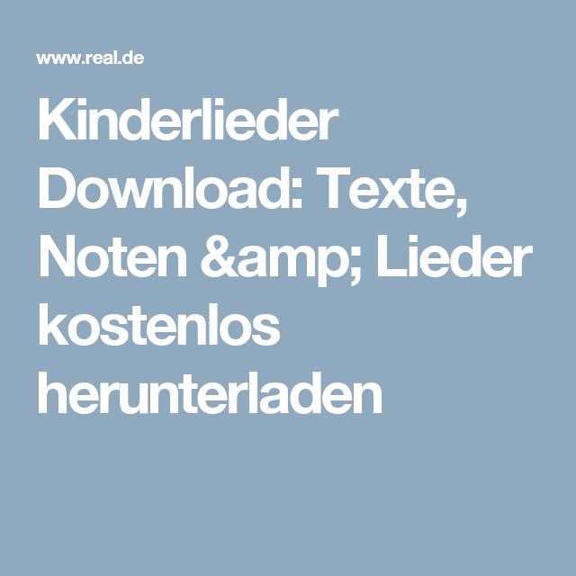 Kinderlieder Download Kinder Lied Kinderlieder Lied