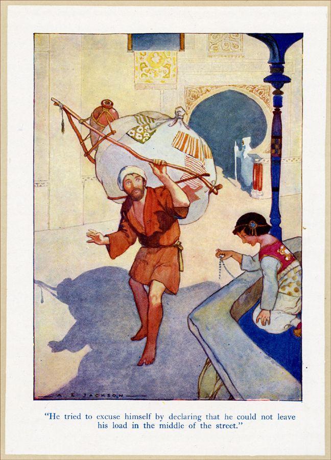 Arabian Nights A E Jackson миниатюры