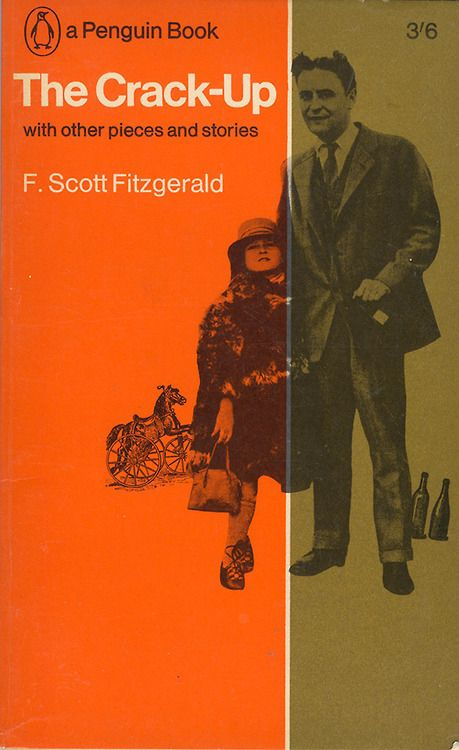 F. Scott Fitzgerald - The Crack-Up with Other Pieces and Stories, 1965 Artwork by Gerald Cinamon