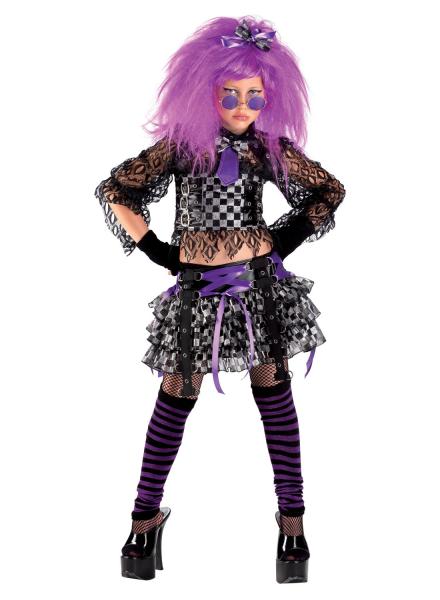 Karnevalskostum Punk Girl Kostum Punkerin Fur Madchen Teenager