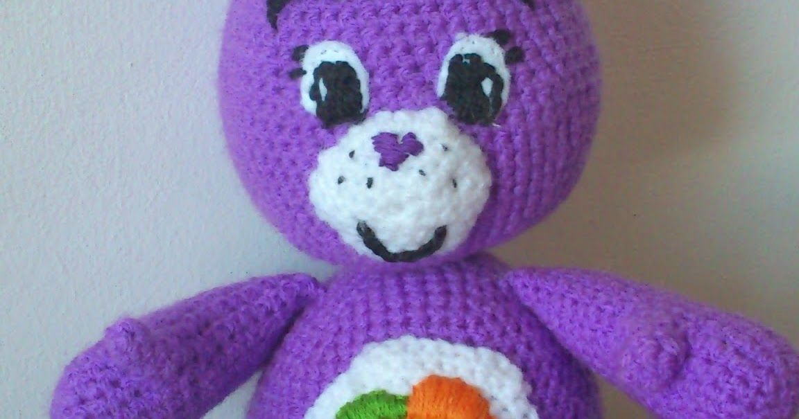 Care Bears Crochet Pattern Abbreviations Blo Back Loops Only Mc