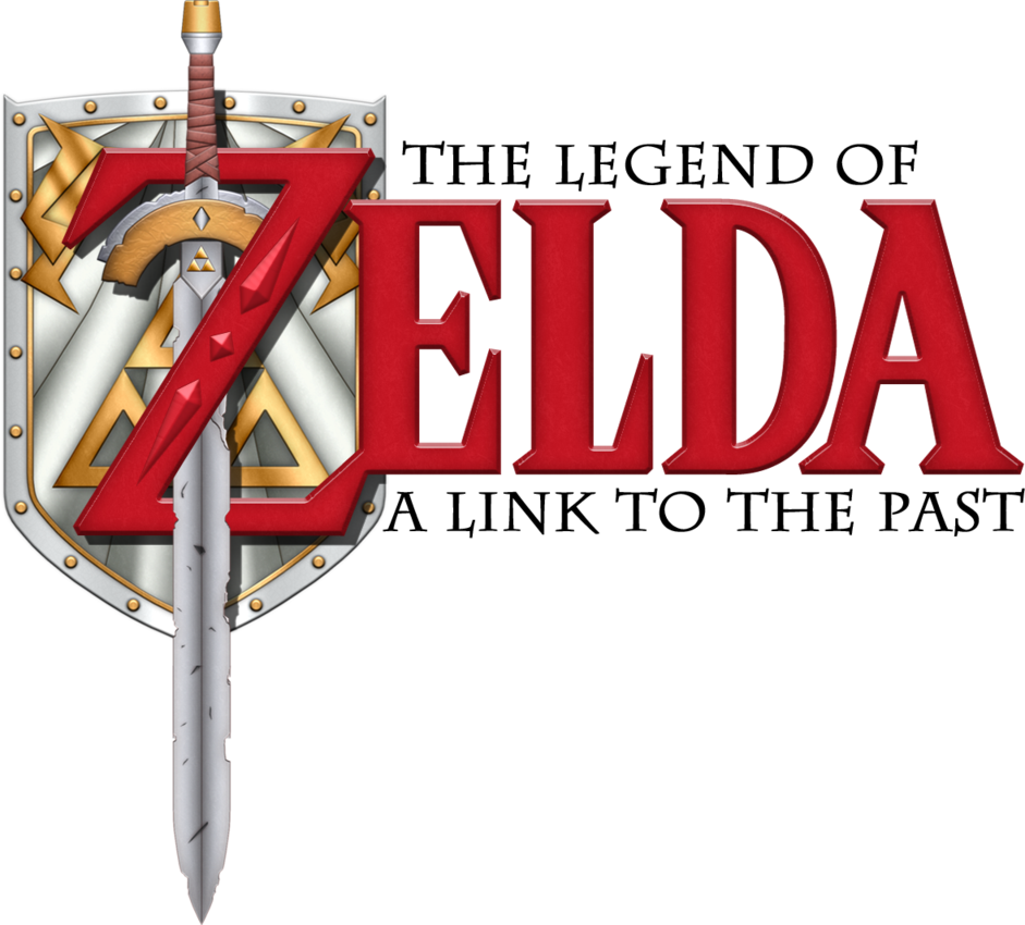 A Link To The Past Logo Past Legend Of Zelda The Past