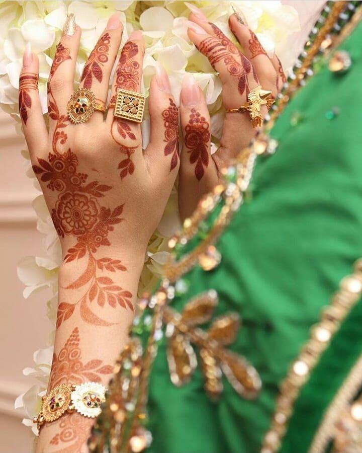 Follow For More Jjameel456 Wedding Mehndi Designs Khafif Mehndi Design Beautiful Henna Designs