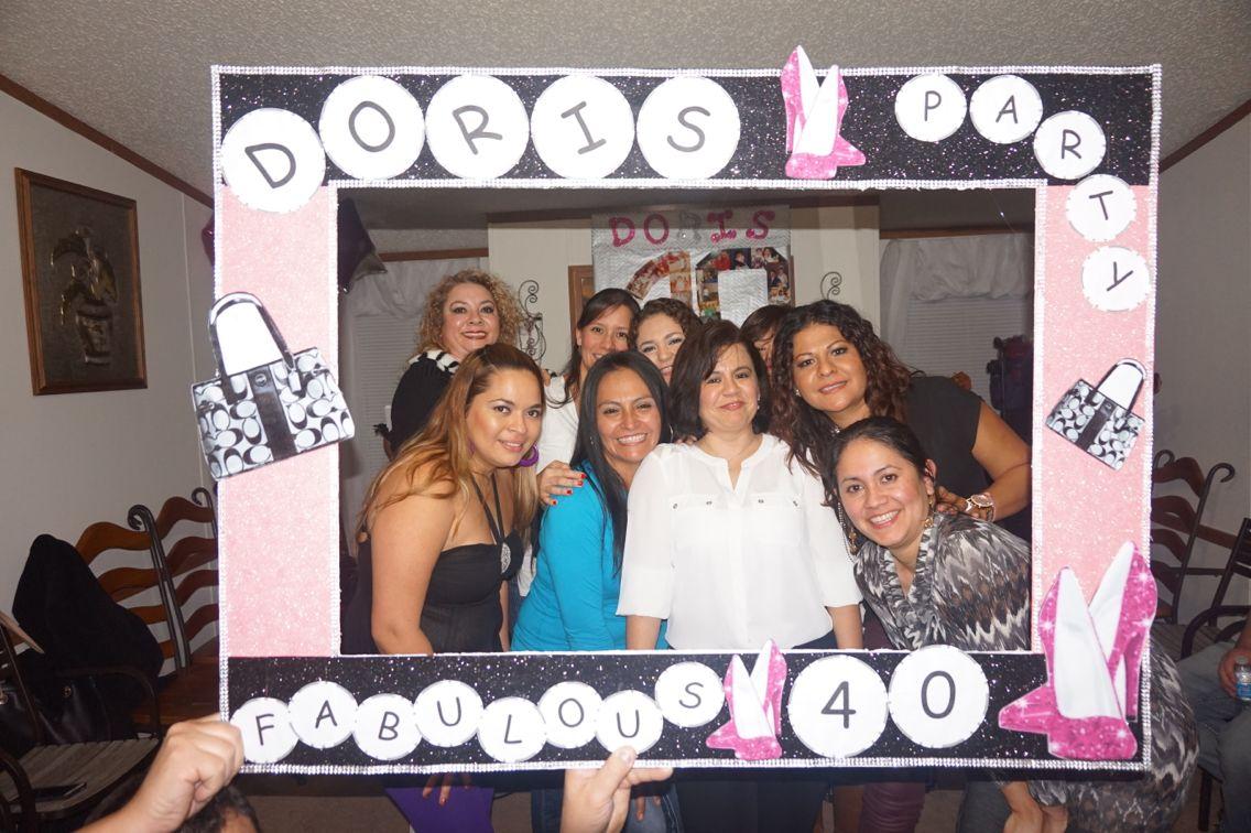 Marco para fiestas fabulous 40 | tejidos de made | Pinterest ...