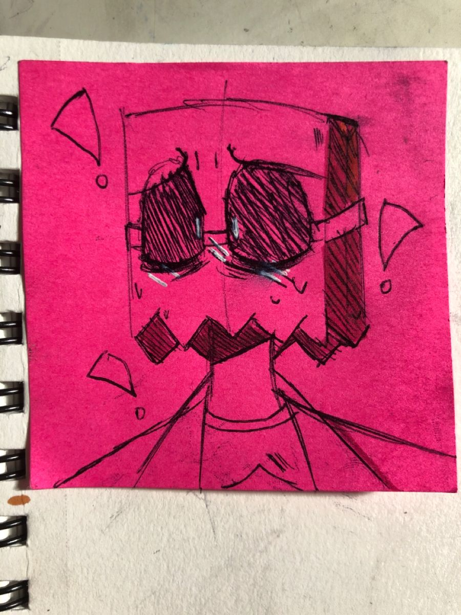 Look at him!!! #villainous #fanart #art #cartoonnetwork #cartoonart #drflug #doodle