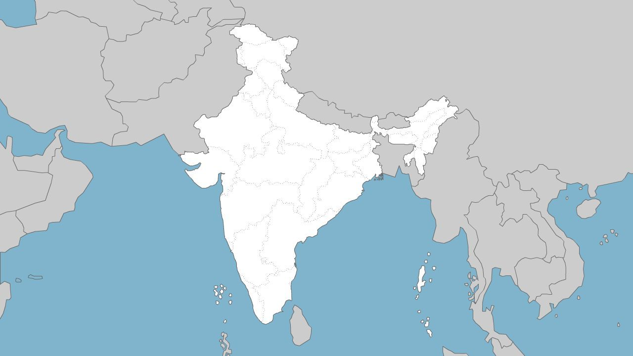 Printable outline map of india with states india maps static and printable outline map of india with states india maps static and interactive maps of gumiabroncs Image collections