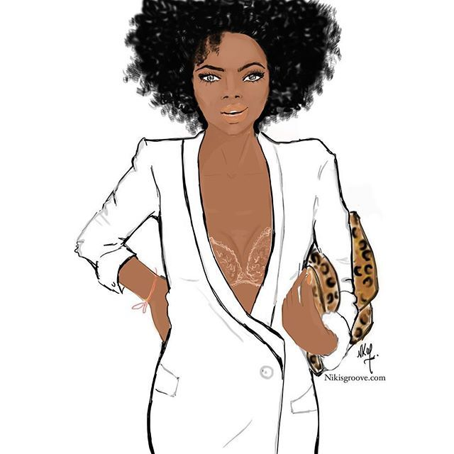 b770ab3a8a WEBSTA   nichollekobi - White dress nubian skin lace bra nikisgroove   illustration  nubianskin  blackbeauty