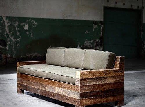 te contamos como hacer sofas con palets de madera y te dejamos algunas fotos con ideas para que te inspires y todo sea coser y cantar - Sofas De Palets