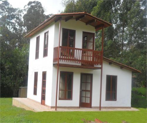 Fotos de casas prefabricadas madera concreto chalets cali for Precios de cabanas prefabricadas