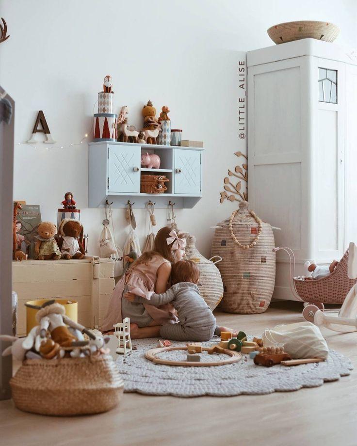 lovely kids room / room for two / siblings Kids Room ideas in 2018