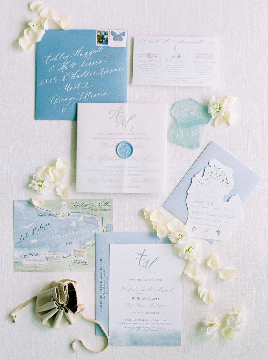 Wedding In Bay Harbor Michigan