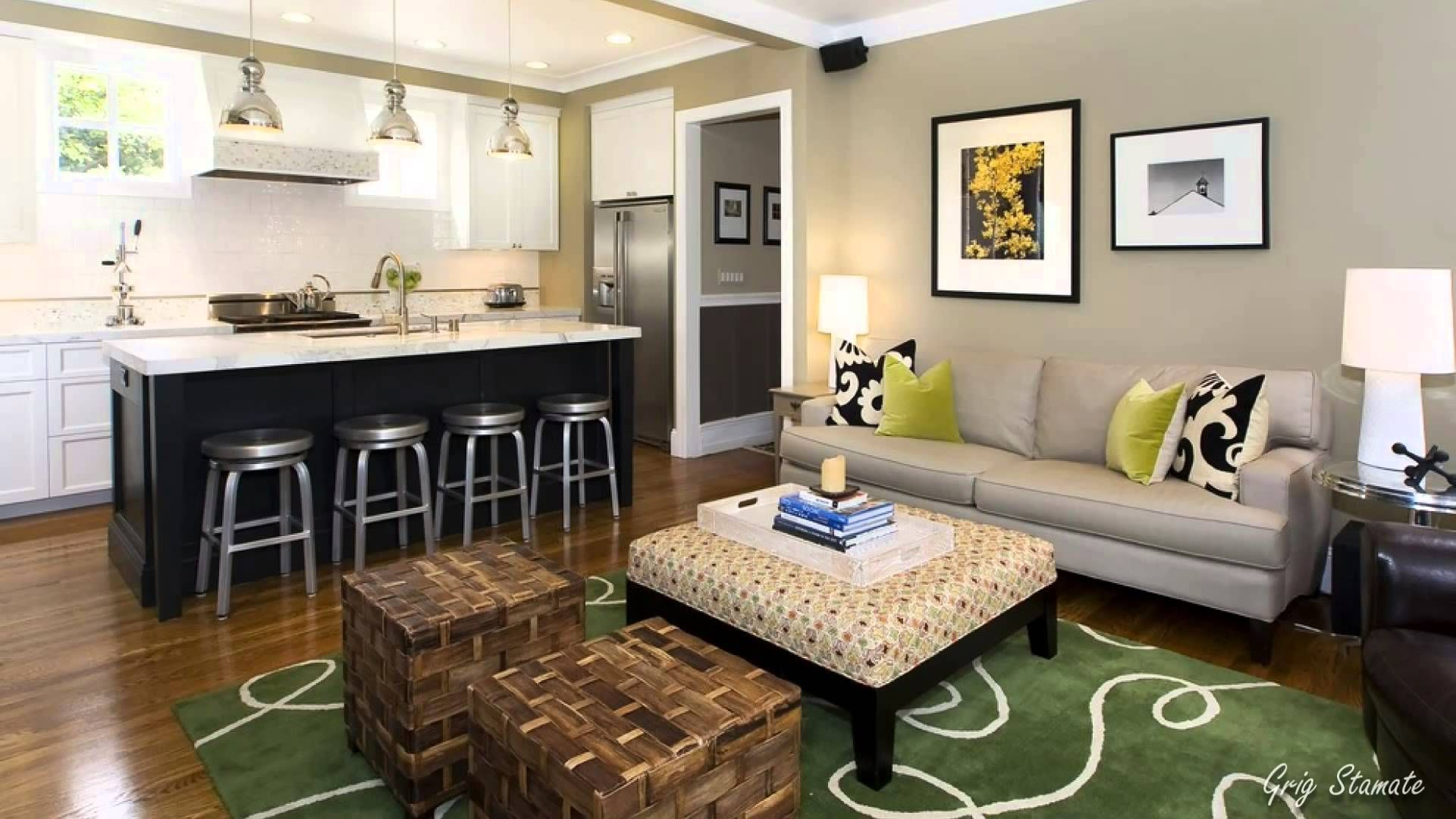 40 Awesome Basement Design Ideas Basement Apartment Decor Contemporary Family Rooms Family Room