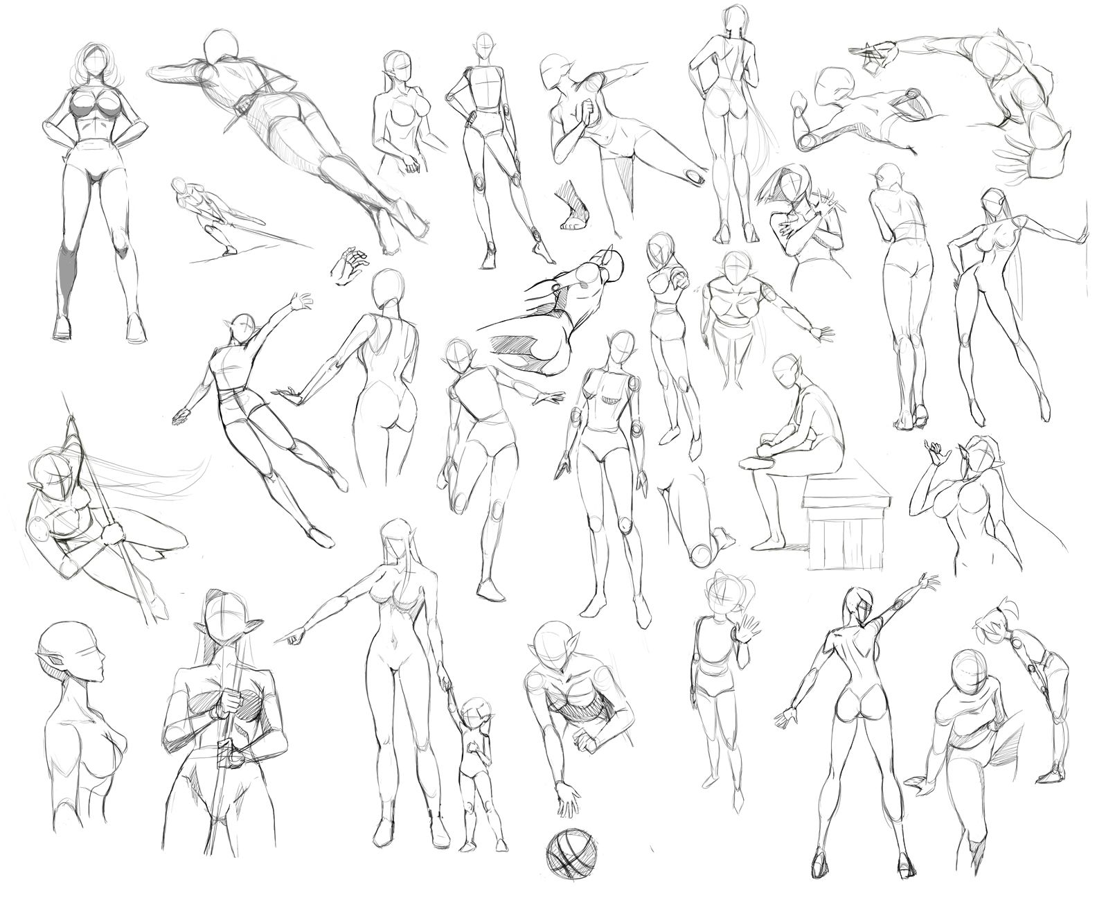 Female anatomy by Precia-T.deviantart.com on @deviantART | cuerpo ...