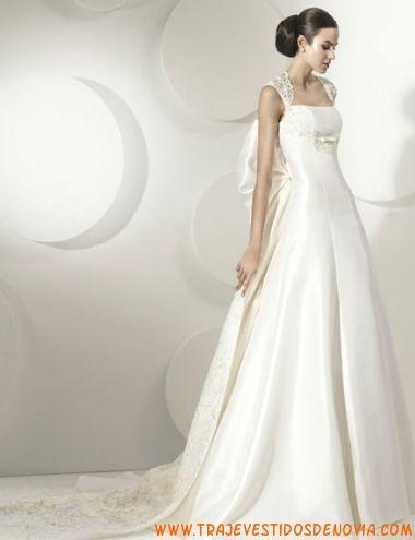 vestido de novia franc sarabia