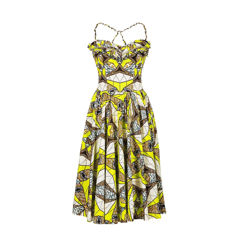 Gazelle Dress caleidoscope - Outlet - Online Shop - Lena Hoschek Online Shop