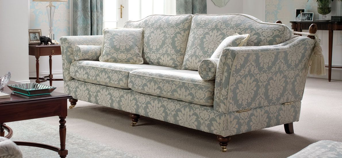 Amazing Balmoral Traditional Patterned 3 Seater Sofa Sofasofa Onthecornerstone Fun Painted Chair Ideas Images Onthecornerstoneorg