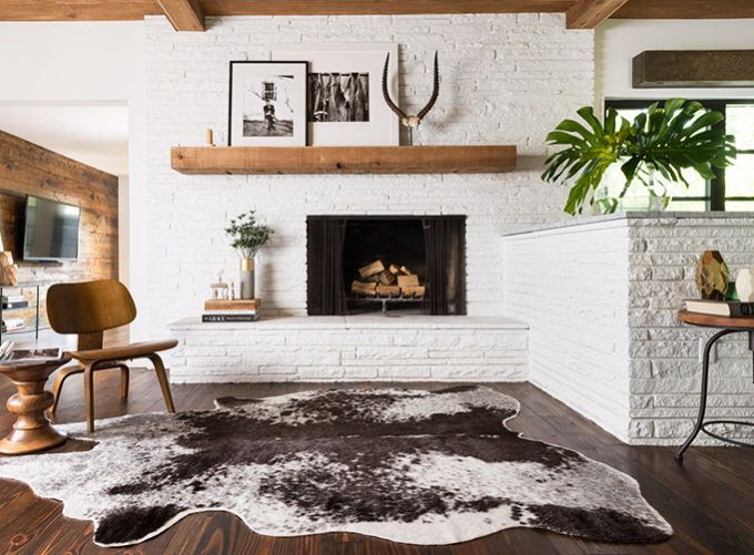get inspired the diy white brick fireplace