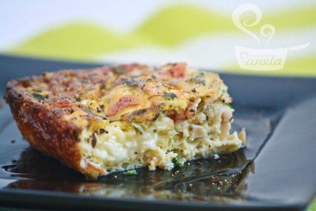 omelete no forno tbm fica bom