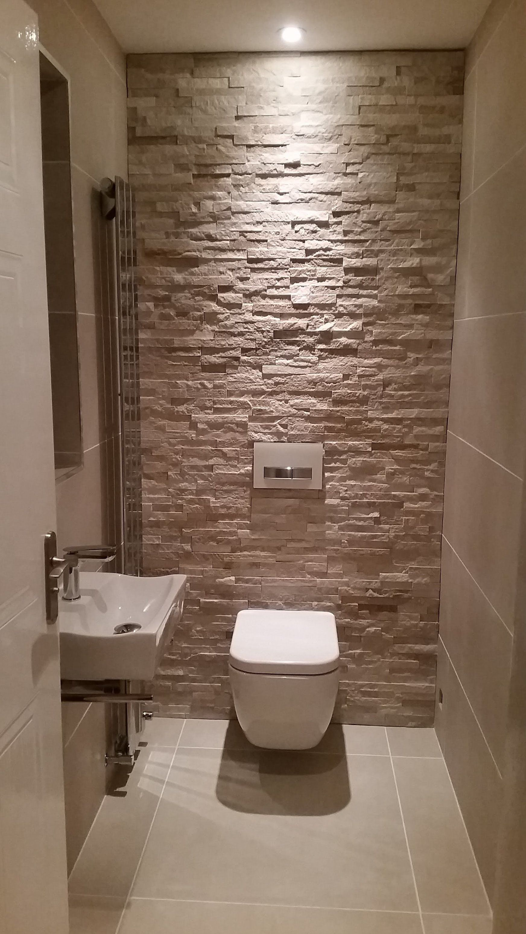 Cloakroom Wc Project Bathroomideas In 2020 Downstairs Toilet Small Toilet Room Downstairs Cloakroom