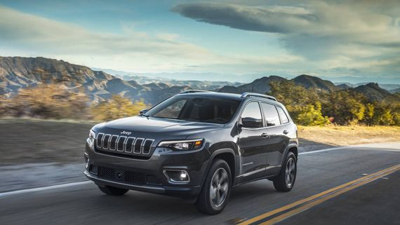Vnedorozhnik Jeep Cherokee 2019 Dzhip Cheroki 2019 Jeep Cherokee