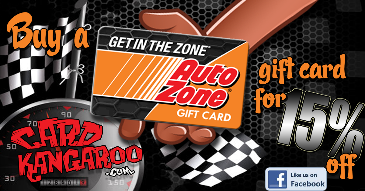 Save 15 On Gift Cards For Auto Zone Autozone Https Cardkangaroo Com Autozone Giftcard Automotive Autorepair Sell Gift Cards Gift Card Gifts