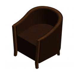 Club Chair Revit Model Club Chairs Chair Furniture