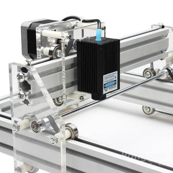 300mw Desktop Diy Violet Laser Engraving Machine Picture