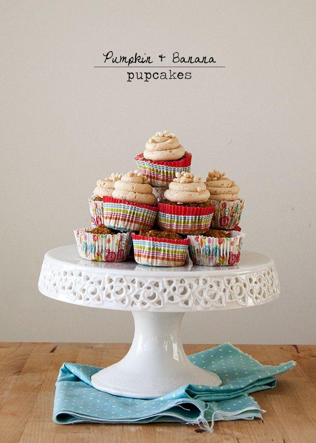 Pumpkin Banana Cupcakes | Style Sweet CA