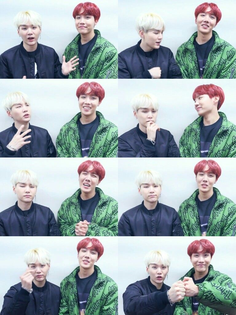 Suga And J Hope Sope Bts Weibo Cant Let Go Of Chinese