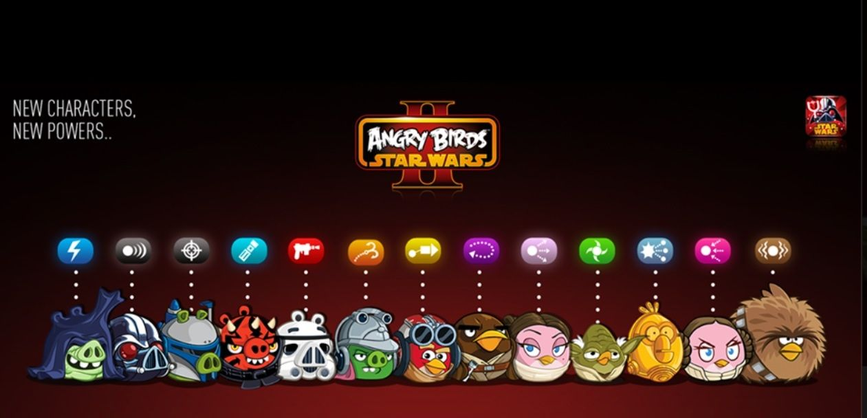 Angry Birds Star Wars Ii With Images Angry Birds Star Wars