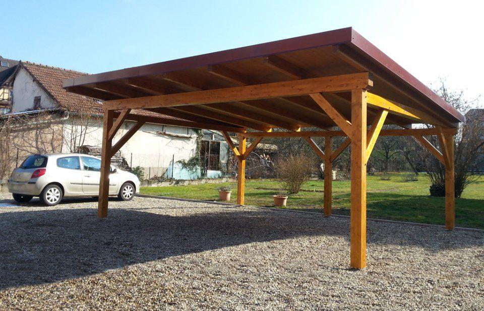 abri monopente pour 2 voitures carport ideas carport