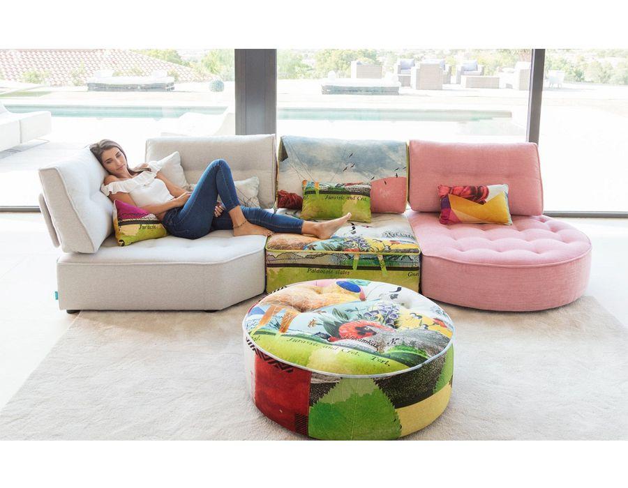 Modern Fama Arianne Love Modular Sectional Florida Cozy Living