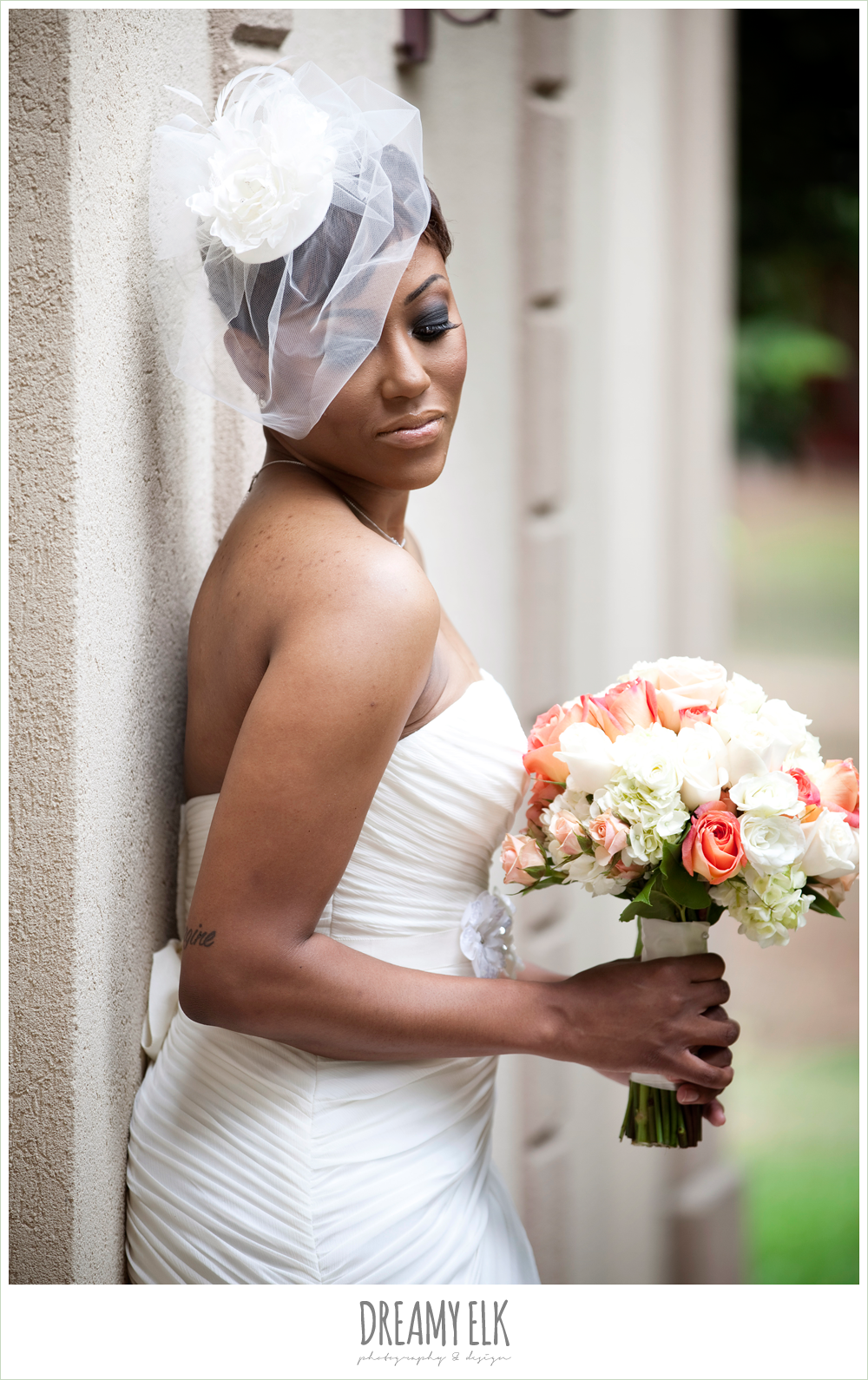Bre Onna Tyrone Wedding Northwest Forest Conference Center Eachbirdcage Veilsstrapless Dressesbirdcagesforestswedding