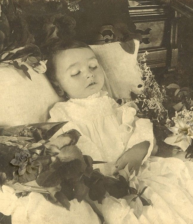 Post Mortem Photo, Seems To Be Quite Odd These Days, But