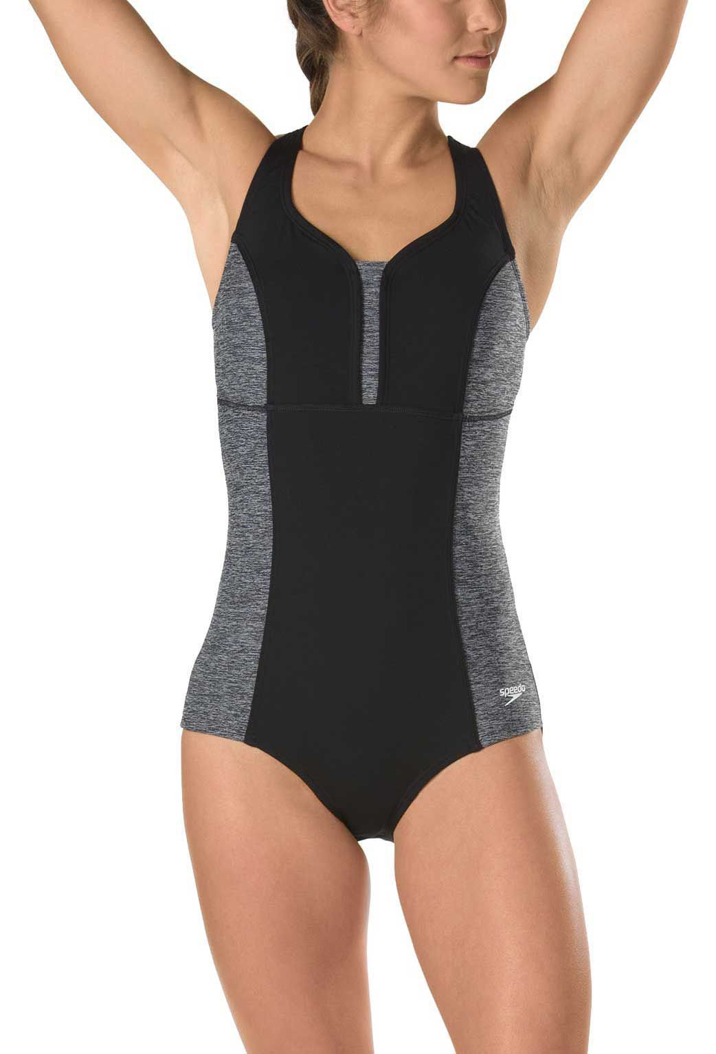 b521e2aff80 Speedo Women's Texture Touchback Swimsuit | DICK'S Sporting  GoodsProposition 65 warning iconProposition 65 warning icon
