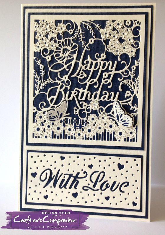 Motivstempel Stempel Happy Birthday 64 x 32 mm Kartengestaltung  Basteln